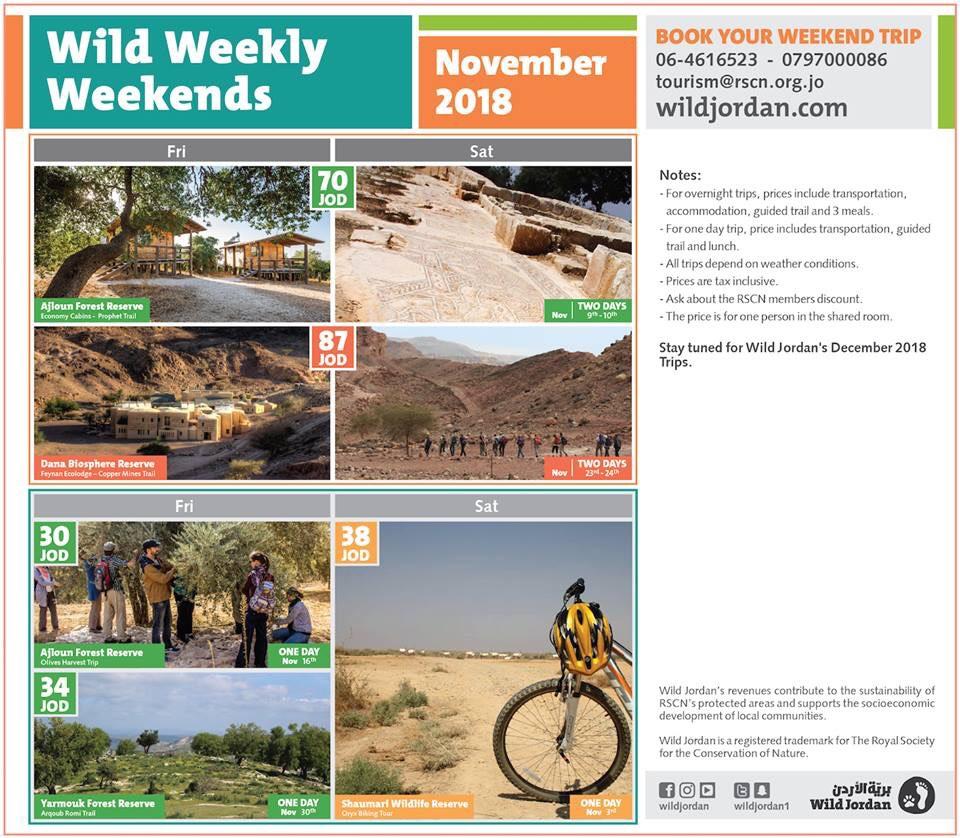 Wild Weekly Weekends