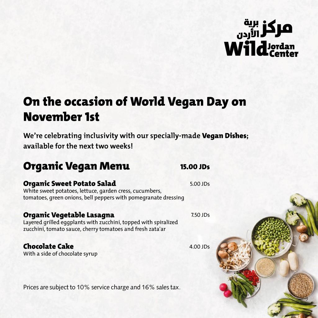 WJC Vegan Day